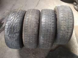 Título do anúncio: 4 rodas com pneus 185 65 14 meia vidas