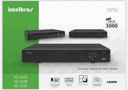 Título do anúncio: DVR INTELBRAS DV 3116 c/ HD 500GB