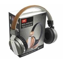 Headphone Metal Super Bass Wireless Bluetooth
