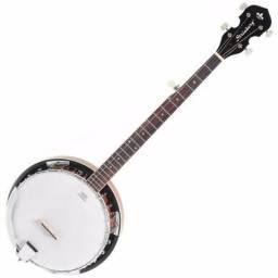 Usado, Banjo Americano 5 Cordas Strinberg Wb50 Pele Remo Mahogany comprar usado  Curitiba