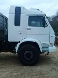 Vendo ou troco vw truck 6x2 cabine leito 35300, no chassis!!!, pego troca até 40 mil