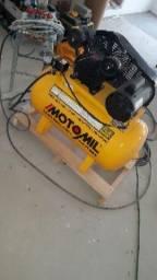 Compressor e maquina pneumática de pintura airless