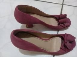 Calçados femininos usados e novos