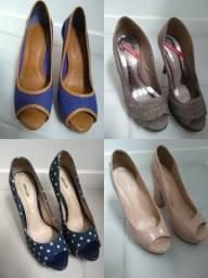 a49dc5543b 4 sapatos nº35 - Arezzo - Iódice Denin - Lilly´s Closet - Sonho dos