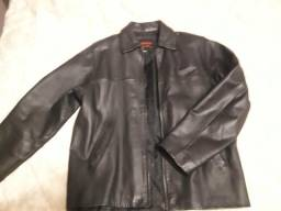 Jaqueta em couro legítimo masculina R$180,00 comprar usado  Florianópolis