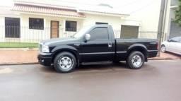 Oferta vendo ou troco F250 ano 2004 motor MWM 6 cilindro 4 pneus novo impecável XLTL - 2004