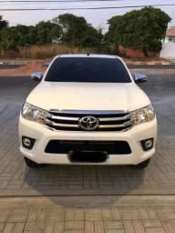 Toyota Hilux SRV 4x4, diesel, automática, 17/17, branca - 2017