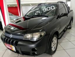 Fiat Strada Adventure 2006 1.8 flex completo novo barato financio - 2006