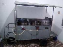 Carro de batata frita