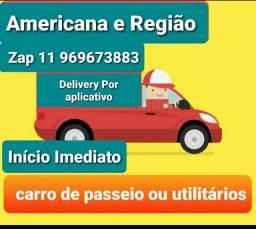 Carro App Entregas Americana e Região