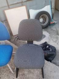 Cadeira Fixa Flexform tecido NOVO