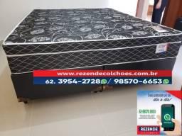 :: Promoçao Cama Box + Colchao Sonata Queen Size 158x198 A Pronta Entrega