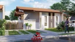 Lindas Casas no Cond Bella Citta | 2 Quartos c/ 1 semi- suíte | 58m | Porcelanato