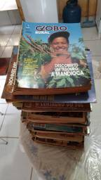 Vendo coleção de 12 anos de revistas do globo rural