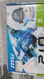 Placa de vídeo NVIDIA GT 210