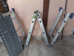 Escada de Alumínio Articulada MOR