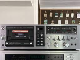 Tape deck dual c839rc alemão seminovo de altíssima qualidade e recursos