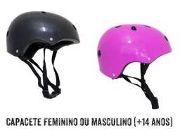 CAPACETE FEMININO OU MASCULINO ( +14 anos) EPS, PLÁSTICO