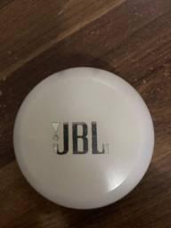 Fone de Ouvido Bluetooth JBL Free - Intra-auricular com Microfone Branco