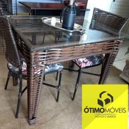 Mesa com 4 cadeiras R$:999 Preço da Black Friday á pronta entrega