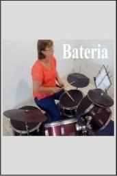 Curso de Bateria e Canto em grupo ou individual