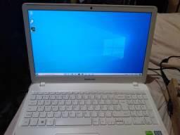 Notebook sansung i7 placa vídeo 940mx placa mãe estragada