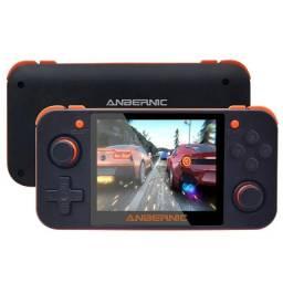 Vídeo Game Portatil RG350: Original + Case Brinde + Cartão Adicional