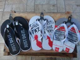 Promoção 2 pares de sandália Coca Cola e Reserva