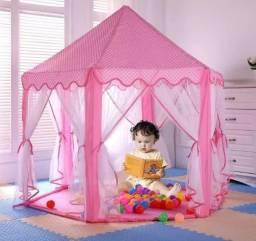 Promoção Barraca Infantil Tenda Cabana Castelo Princesas, Nova, Entregamos