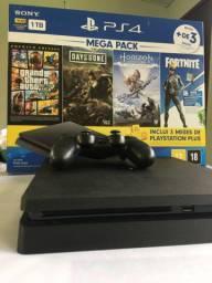 Playstation 4 com garantia e NF