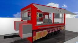 Faço projetos 3D para trailers, carrinhos e stands