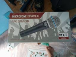 Microfone mxt
