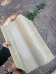 Telha terracota icetec verde oliva esmaltada