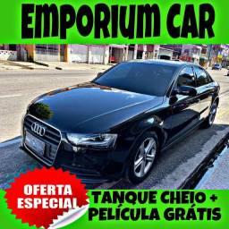 TANQUE CHEIO SO NA EMPORIUM CAR!!! AUDI A4 1.8 LM ANO 2015 COM MIL DE ENTRADA
