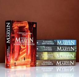 Coleção livro Game Of Thrones GOT A Guerra dos Tronos