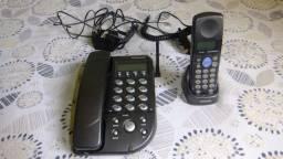 Telefone sem fio com ramal
