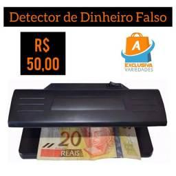 Detector de Dinheiro Falso + Entrega Grátis