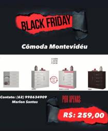 Cômoda Montevidéu