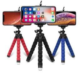 Título do anúncio: Mini Tripé Flexível Ajustável Para Celulares e Cameras Móvel