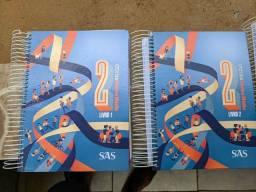 Livros SAS, 2ª série, 2019.
