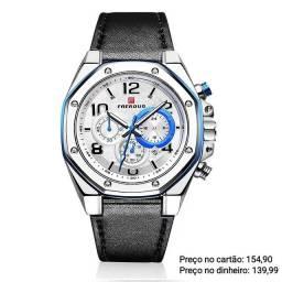 Relógio masculino importado original Faerduo cronógrafo de qualidade incrível