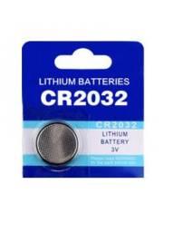 Bateria CR2032 Lítio 3V cada unidade