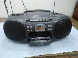 Aiwa rádio toca FITA e CD player e rádio