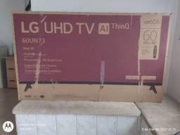 tv. 60 polegadas  LG na caixa