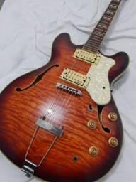 Título do anúncio: Guitarra Semi-acústica Strinberg