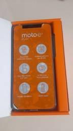 Motoe6 play novo na caixa sem usso