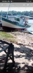 Barco forma a raia