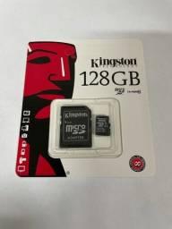Cartão de memória 128gb lacrado