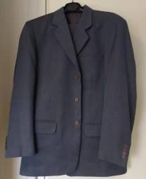 Título do anúncio: Terno Coronet 48 Calça 46 Azul Poliéster