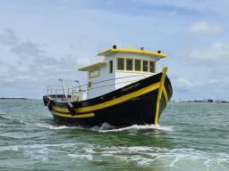Título do anúncio: Barco de passeio e pesca